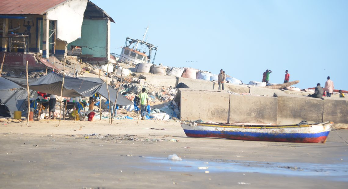 Beira: Mozambique's second largest city is sinking