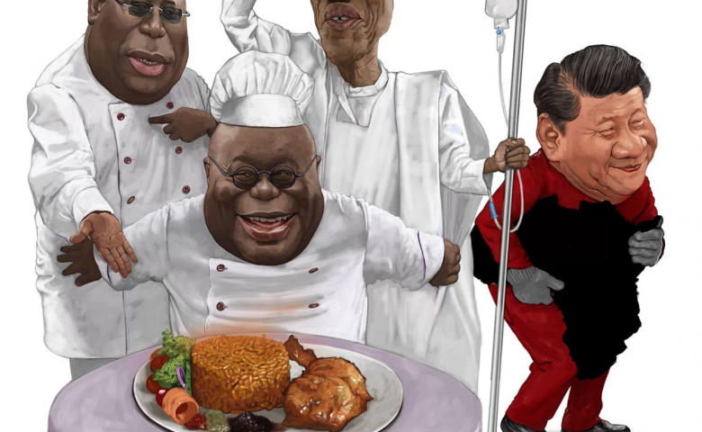 How a lone Ghanaian cartoonist stood up to China