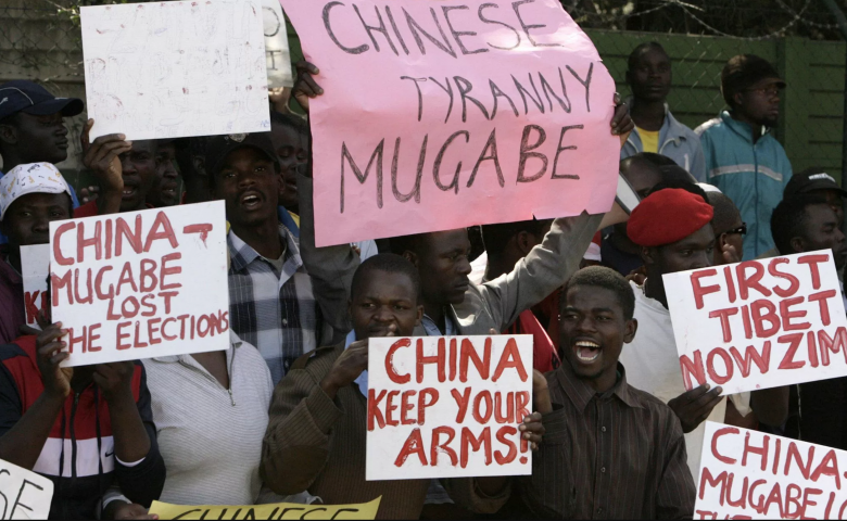 Diamonds and the Crocodile: China's Role in the Zimbabwe Coup