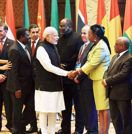Making a play for Africa: China, India and Japan compete for the continent's favour